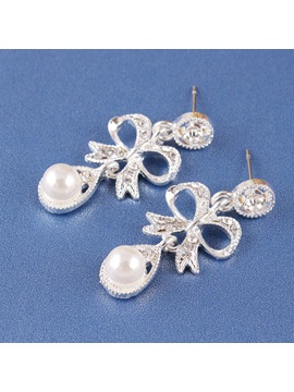 Korean Earrings E-Plating Jewelry Sets (Wedding)