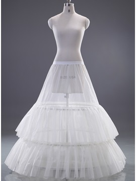 Multilayers gauze 2 steel wire Wedding Petticoat