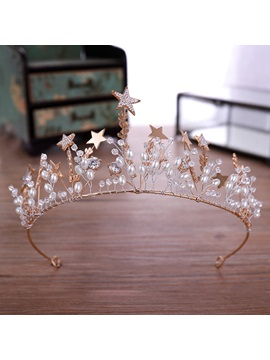 Korean Tiara Floral Hair Accessories (Wedding)