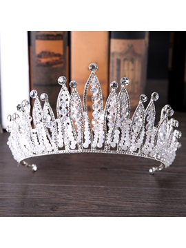 Korean Crown Diamante Hair Accessories (Wedding)