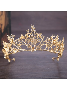 Tiara Gemmed Crown Hair Accessories (Wedding)