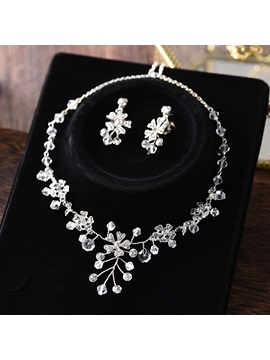 Earrings Gemmed European Jewelry Sets (Wedding)