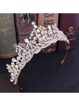 Crown Tiara Korean Hair Accessories (Wedding)