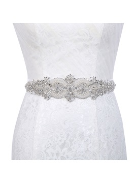 Polyester Wide Belt(>4cm) Mosaic Bridal Belts 2019