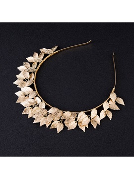 Pearl Inlaid Hairband Plant Birthday Hair Accessories