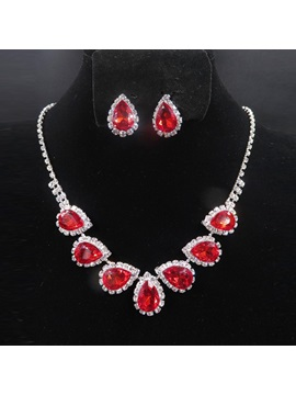 E-Plating Vintage Necklace Jewelry Sets (Wedding)