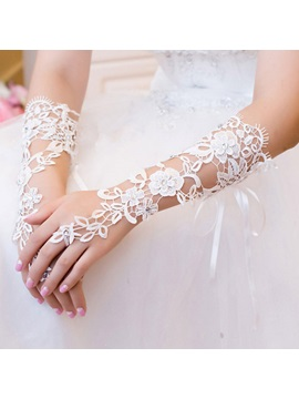 Elbow Lace Wedding Gloves 2019