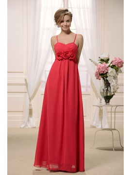 Sexy V-neck with Spaghetti Straps in Empire Slim A line Skirt 2013 New Bridesmaid Dress & fashion Bridesmaid Dresses