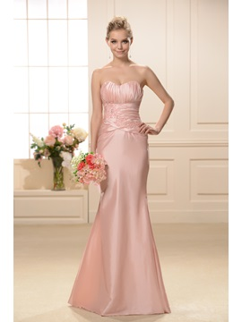 Exquisite Mermaid Sweetheart Neckline Floor-Length Bridesmaid Dress & quality Bridesmaid Dresses