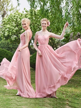 Wonderful Beaded Spaghetti Straps Long Bridesmaid Dress & Bridesmaid Dresses from china
