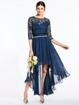 Elegant Sweetheart Beaded Asymmetry Bridesmaid Dress With Jacket & Bridesmaid Dresses under 500