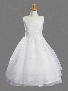 New Charming Ball Gown Tea-Length Flower Girl Dress & fairy Flower Girl Dresses