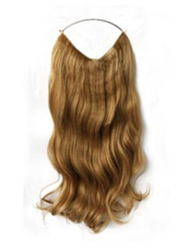 Wavy Human Hair Flip In Hair Extension