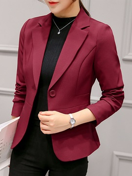 Short Slim Fit Women's Blazer