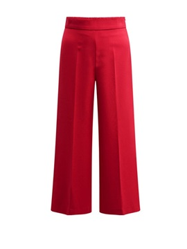 OL Plain Wide Legs Thin Women's Casual Pants