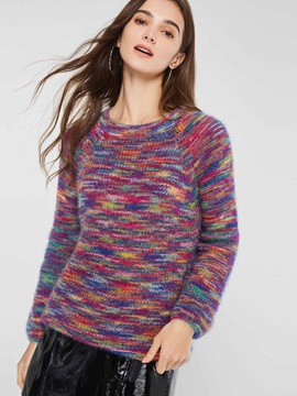 Regular Print Standard Women's Sweater