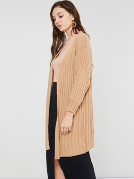 Knitted Wrapped Loose Thread Women's Cardigan