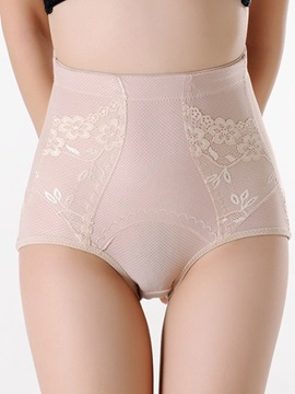 Cotton Blends Stretchy Shaping Control Panty