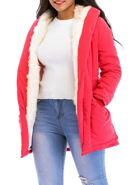 Wrapped Loose Thick Mid-Length Women's Cotton Padded Coat