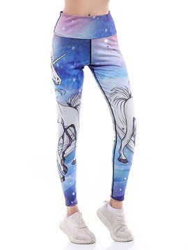 Animal Print Breathable Women's Leggings