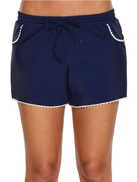 Plain Beach Look Women's Board Shorts