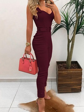 Ankle Length Skinny Women's Jumpsuit