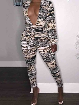 Sexy Ankle Length Slim Women's Jumpsuit