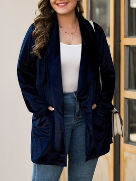 Mid-Length Pocket Loose Women's Trench Coat