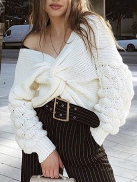 Thin Long Sleeve Winter Women's Sweater