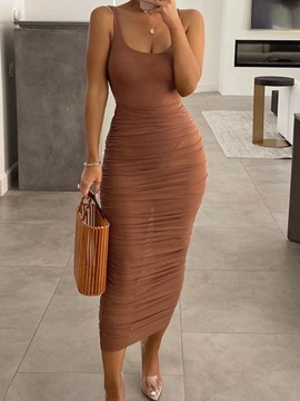 Sexy Jumpsuit Plain Pullover Bodycon Women's Two Piece Sets
