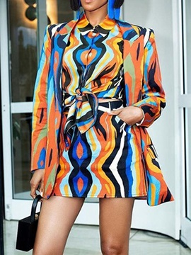 Button Western Skirt Bodycon Women's Two Piece Sets
