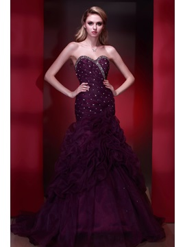 Glamorous Mermaid Sweetheart Pick-ups Sequins Dasha's Evening Dress & cheap Formal Dresses