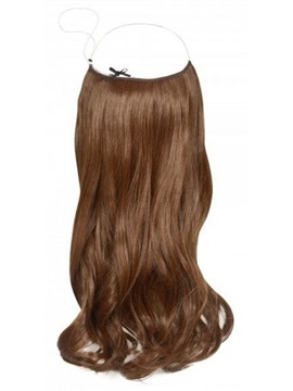 Attractive Wavy 100% Human Hair Flip In Hair Extension