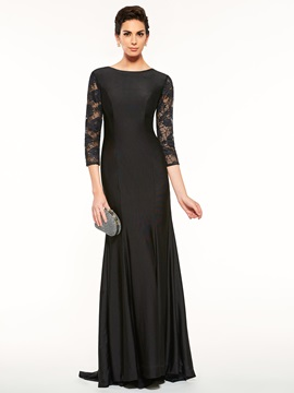 Lace 3/4 Length Sleeves Sheath Mother of the Bride Dress & amazing Mother of the Bride Dresses