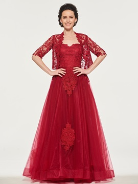 Lace Appliques Mother of the Bride Dress with Jacket & amazing Mother of the Bride Dresses