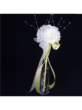 Fine Flowers Pearl Bridesmaid And Flower Girls Wedding Bouquet