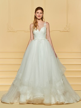 Appliques Ball Gown Wedding Dress & Wedding Dresses for less