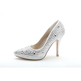 Bowknot Platform High Heel Wedding Shoes