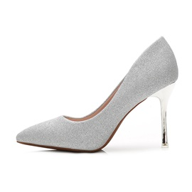 Thin Shoes Ultra-High Heel Stiletto Heel Sequin Wedding Shoes