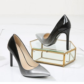 Pointed Toe Thin Shoes Stiletto Heel Ultra-High Heel Wedding Shoes