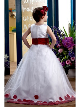 Ball Gown Appliques Flower Girl Dress