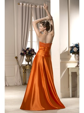 Enchanting A-Line Sweetheart Floor-Length Mother of The Bride Dress