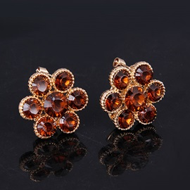 High Quality Alloy Flower Shape Jewelry Set(4 pieces)