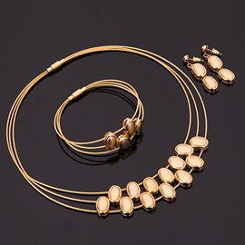 High Quality Alloy Multilayer Women Jewelry Set