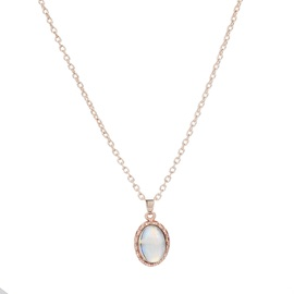 Shiny Gem Inlaid Diamante Necklace Earrrings Jewelry Sets