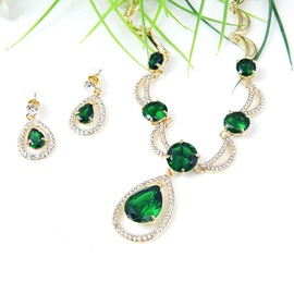 Diamante Nigeria Style Luxury Jewelry Set