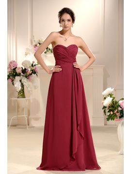 Satin Strapless New Style Wholesale Bridesmaid Dress