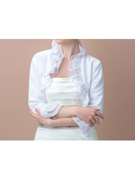 Stringy Selvedge 3/4 Length Sleeve Wedding Jacket