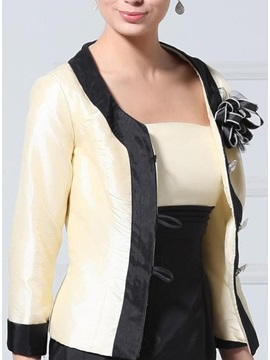 Attractive 3/4-length Sleeve Wedding/ Party Jackets/Wraps