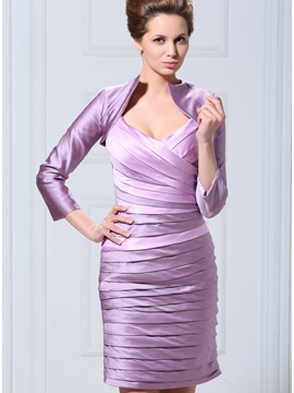 Temperamental 3/4-length Sleeve Wedding/ Party Jackets/Wraps